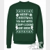 "Star Wars Ugly Christmas Sweater ""Merry Christmas You Half-Witted Nerf Herder"""