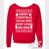 "Star Wars Ugly Christmas Sweater ""Merry Christmas You Half-Witted Scruffy Lookin"