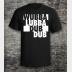 Rick and Morty Shirt: Wubbalubbadubdub Shirt. Unisex Tee in Black.