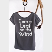 I Am A Leaf On The Wind Shirt Firefly Off the Shoulder Slouchy