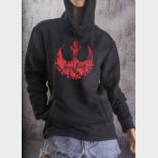 Fitted Hoodie Star Wars Rebel Alliance Echo Base Hoth