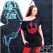 Star Wars Echo Base Hoth Off The Shoulder Slouchy Shirt