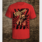 Game of Thrones Shirt: Kill The Masters Unisex Tee in Red.