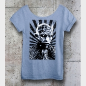 Game of Thrones Shirt: The Night King Shirt. Winter Is Coming! White Walkers Shi