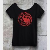 Game of Thrones Shirt Targaryen Sigil