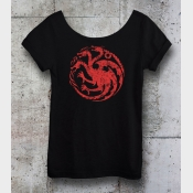 Game of Thrones Shirt Targaryen Sigil