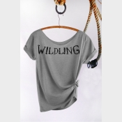Wildling Shirt Game of Thrones Off the Shoulder Slouchy