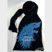 Game of Thrones Black Scarf